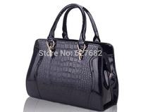 New 2014 Brand Women Leather Handbag Messenger Lady Shopping Ms Fashion Clutch 6 Colors Black Bags Travel Bolsas Mulher Bolsa