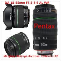 Pentax DA18-55 wr waterproof DAL 18 to 55 teardown lens SLR digital camera lens pentax interface standard zoom lens