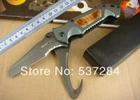 High Quality BOKER PA44 Double Use Outdoor Rescue/Survival/Multifunctional/Camping folding Knife Utility Multi Tools CZ0141