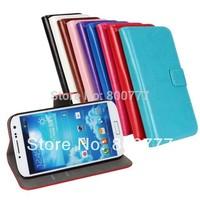Crazy Horse Slim Stand Leather Case for Samsung Galaxy S3 Mini i8190,S4 Mini i9190