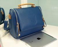2014 new autumn fashion preppy style stamp one shoulder bags women leather handbags women messenger bags women handbag