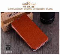 4Color,MOFI Luxury Genuine Leather Phone Flip case for Lenovo S930,High quality Stand Thin Cover case