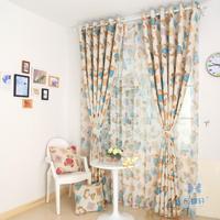 Eco-friendly shade cloth sunscreen curtain child cartoon teddy bear long design