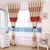 customize Curtain brief bedroom curtain