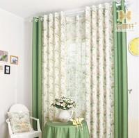 customize Curtain plaid balcony