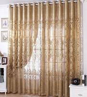 customize Curtain jacquard fashion luxury curtain sculpture