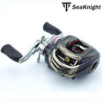 Trulinoya Brand DW1000 Black Baitcasting Fishing Reels 10+1BB Right Hand carp fishing Gear Drum Sea Bait Casting reel