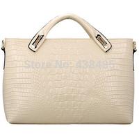 Designer Women Handbag Genuine Leather Bags Handbags Women Famous Brand Crocodile Tote Shoulder Bag Luxury Women Messenger Bags