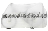 In stock New Motorcycle Bicycle Bike Dust Cover Waterproof Protection Garage white Dust Protector Cover motocross