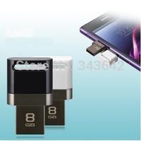 Genuine capacity 8GB 32GB 64GB OTG Smart phone usb 2.0 flash drive pendrive super mini OTG flash drive memory stick for tablet