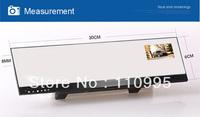 "2.7""Car DVR Camera 1080P DVR motion detection g-sensor rearview mirror"