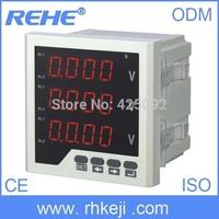 digital three phase AC dc digital voltmeter  homemade digital voltmeter