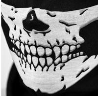 Motorcycle ride skull cs seamless magic bandanas outdoor sports washouts ride muffler scarf face mask
