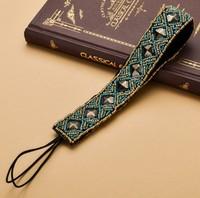 2014 new charming Fshion beading blue beads rivert Elastic headband blue party handmade hari accessories