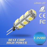 12V DC G4 27/18/13/9/5 PCS 5050 SMD LED Lamp Cool/Warm White light  Home Car RV Marine Boat LED Bulb Lamps Free Shipping