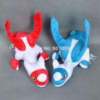 Free Shipping Super Cute Pokemon RED/BLUE Latias Plush Toy Stuffed Animal 12 inch Retail