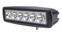 1pcs/lot Free Shipping 18w watt LED Work Light led driving light offroad Truck Mini Boat led bar led fog lamp12v spotlight