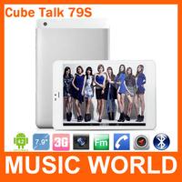 7.9 inch Cube U55GTS Talk 79s Phone Call Tablet PC Built-in 3G GPS MTK8312 Dual Core 1GB /4GB GSM WCDMA Bluetooth OTG