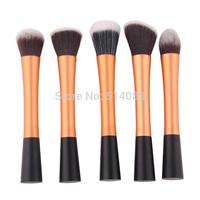 gold Professional Powder Blush Brush Facial Care Facial Beauty Cosmetic Stipple Makeup Tools Makeup Brush Loose Foundation Brush