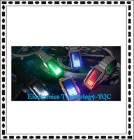 72 LED lights watch man/lady lover's watch fashion 10 piece/lots