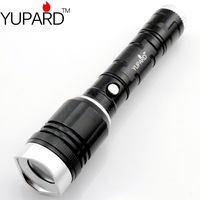 CREE Q5 led zoom aluminum2in1 camping magnetic lantern flashlight 500lm