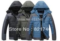 new 2014 Plus size european version cotton-padded male outerwear outside sport wadded jacket men's winter clothing 6XL 7XL 8XL