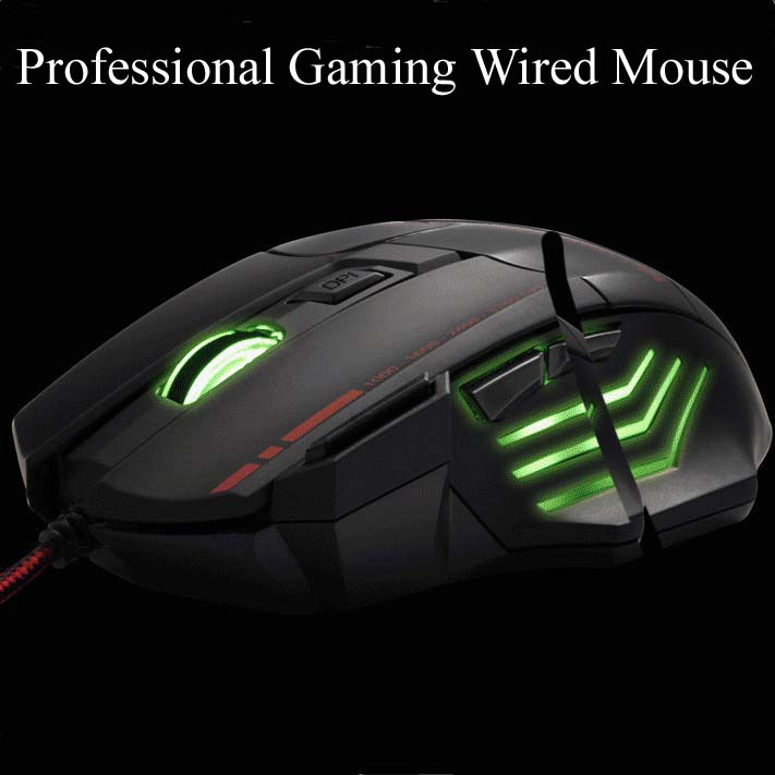 Cheap Black Wired Mouse