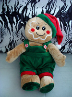 Gingerbread man 45cm christmas plush  dolls toy gift  toy for doll for kids free shipping yx101