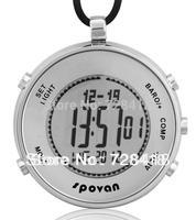Brand New Spovan Elementum Compass/ Weather Forcast/ Alarm/ Altimeter/ Chronograph/ Thermometer/ barometer digital pocket watch