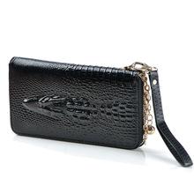 popular red leather wallet women