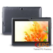"Cheap 7"" Tablet PC Q88 Allwinner A13 A23 Screen 800x480 Dual Core 512MB+4GB Russian Multi Language Dual Camera WIFI OTG Tablets(China (Mainland))"