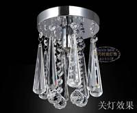 Fashion ingenues balcony entranceway bar crystal pendant light brief child real  lamps