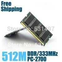 Brand New Sealed DDR 333/ PC 2700 512M  Laptop RAM Memory / Lifetime warranty / Free Shipping!!!