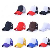 Promotion 2014 New Arrival  Colorful Adjustable  Mesh Cap ,Visor Caps,Working Hat, Baseball Cap For Women And  Men