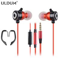 ULDUM 2014 brand original sound sport earhook at factory price with LOGO
