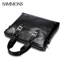 2014 new genuine leather bags brand handbags cowhide leather briefcase business men messenger bags laptop bag