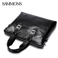luxury high quality genuine leather bag brand handbags shoulder bags leather men briefcase laptop bolsas business men travel bag