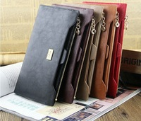 designer brand leather woman wallet zipper diamond hasp lady purse with removalbe card holder dropping shipping N1210-9
