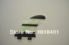 Zebra sample design surfboard fins/fcs surfing fins/fiberglass honeycomb material for surf fins(M size)