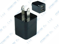 5V 2.1A Dual USB US EU wall Charger Adapter for iphone 6s 6 5 5s 5c 4 4S ipad Air 5 ipad mini 2 Samsung Galaxy S5 S4 S3 100pcs