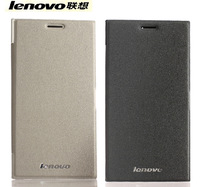 100% Original Lenovo k900 Flip Leather Case and frosted LCD Film with tracking information Free Shipping
