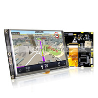 5.0 inch TFT LCD Module Display w/Controller SSD1963,Touch Panel+MicroSD+Font+Flash for MCU,PIC,AVR, ARDUINO,ARM,STM32
