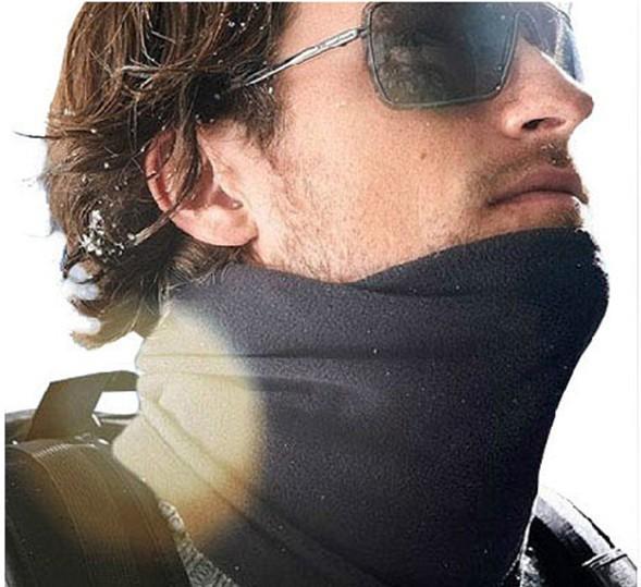 The original single men and women fleece scarf collars versatile ski hat to keep warm in winter outdoors(China (Mainland))