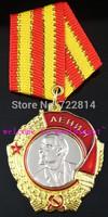 (lucyM0003)FreeShipping Wholesale 5Pcs/Lot  Pre Soviet Union USSR Order of Lenin Replica Medal