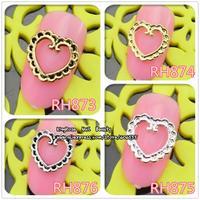 RH873-876 New nail art decoration alloy nail rhinestone 400PCS/LOT  free shipping wholesale glitter tip nail supplies