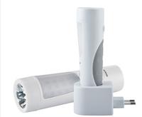 Free Shipping New Wireless Charging LED Flashlight Human Body Induction Intelligent Small Night Lights