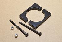 4 pcs M2.5 Aluminium Tube Clip Fixture Clamp, including Screw & Nuts for Multicoper
