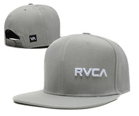 RVCA Snapback hats caps Black Red grey white 8 different  styles men and womens classic adjustable strapback cap freeshiping  !