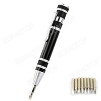 Free Shipping Portable Precision PH0 PH00 PH2 Screwdriver Pen Tool