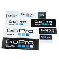 Go pro Hero  Icon Sticker 6 Pcs/lot ( 2 S + 2 M + 2 L ) Of Gopro Logo Accessories